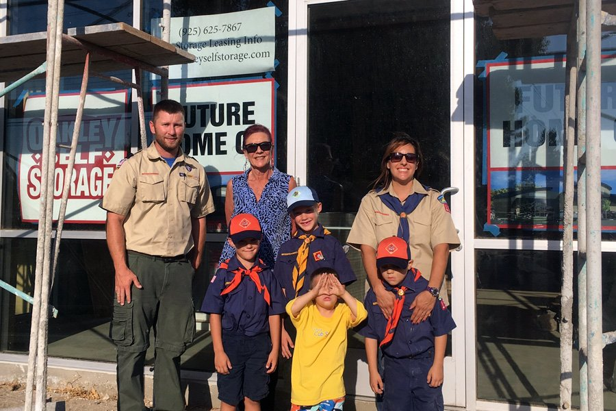Oakley Self Storage is proud to support the Boy Scouts of America Troop 152 & Pack 153