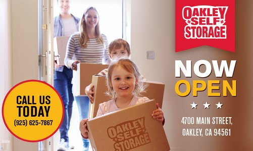 Oakley Self Storage is NOW OPEN