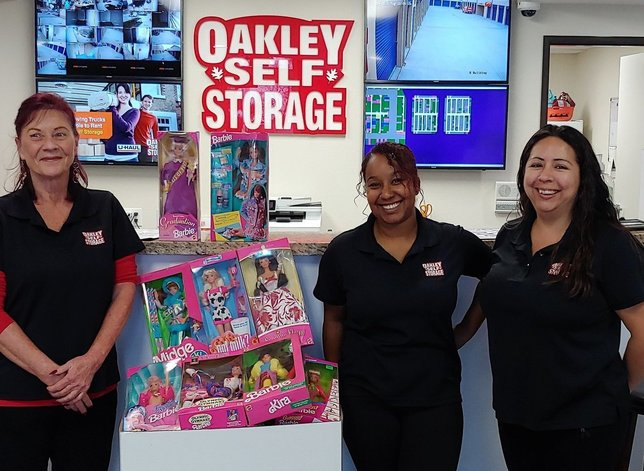 Oakley Self Storage Supports the Marine Corps Toys For Tots