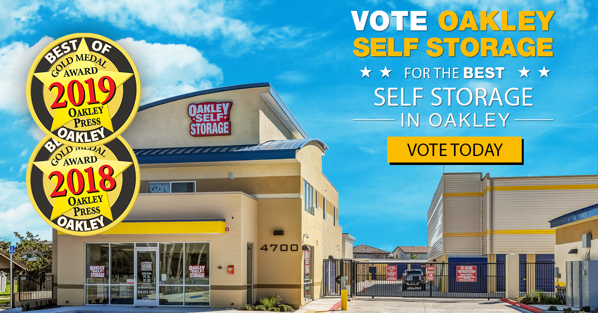 Vote for Oakley Self Storage as the BEST Self Storage in Oakley 2020